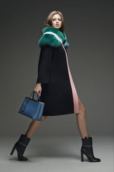 c990ad357f74 Fendi Pre-Fall 2015 - Collection - Gallery - Style.com Lindsey Wixson