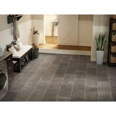 New kitchen floor ideas laminate lowes Ideas Laminate Tile Flooring, Slate Flooring, Wood Laminate, Vinyl Flooring, Kitchen Flooring, Hall Flooring, Garage Flooring, Farmhouse Flooring, Plywood Floors