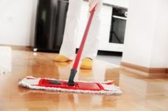 Safe, Natural Hardwood Floor Cleaner | Stretcher.com - She wants that new floor shine again!