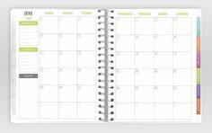 2013 & 2014 Planner by PlumPaperDesigns on Etsy, $30.00