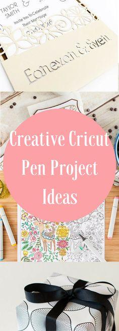 Cricut Pen Projects / Cricut Projects / DIY Cricut Projects / Cricut Ideas / Cricut Projects / Cricut Pens