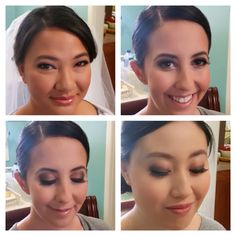 Bridal Makeup by wye One of our stunning bridal parties Hair & Makeup enquiries :  Weddings@wyecosmetics.com.au 1300 993 267