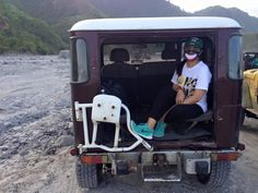4x4 ride going to Mt. Pinatubo