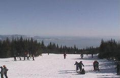 Le Massif, station de ski de Charlevoix, qui domine le St Laurent