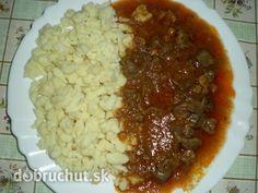 Mäso z diviaka Chana Masala, Chili, Grains, Soup, Vegetables, Eat, Ethnic Recipes, Chili Powder, Chilis