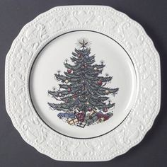 Cuthbertson Dickens Embossed Christmas (Cream) at Replacements, Ltd