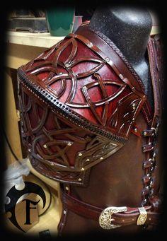 Celtic Warrior Shoulder by Feral-Workshop on deviantART