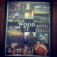 LCHS football collage I made for my boyfriend :)