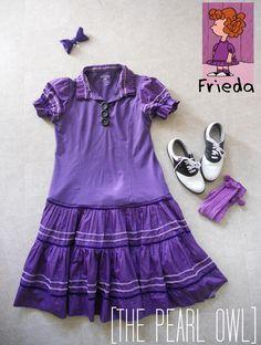 Frieda (from Charlie Brown) costume.
