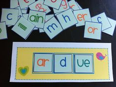 I've created this free nonsense word activity that can be used in small group, RTI, or at a center for your students to practice decoding skills.