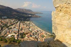 Aussicht von La Rocca über Cefalù