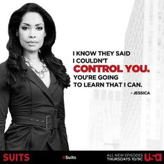 Gina Torres Already Nailed Her Wonder Woman Audition Harvey Specter Suits, Suits Harvey, Suits Tv Series, Suits Tv Shows, Boss Lady, Girl Boss, Jessica Pearson, Suits Quotes, Sarah Rafferty