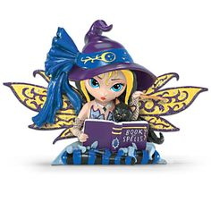 Jasmine Becket-Griffith Witch Fairy And Black Cat
