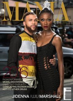 Music Star, Jidenna & Model, Uju Cover Style Mania Magazine