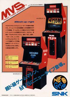 Un exemple de Bornes d'arcade de SNK Neo Geo , (non non je n'ai pas oublié Playmore (sic!))