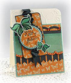 Card by Julee Tilman using Verve Stamps.