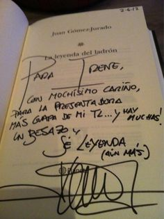 @icacabelos    La dedicatoria de Irene