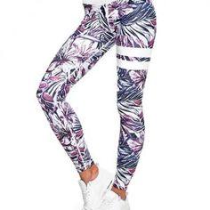 9d842a7a46 Mallas Deportivas Mujer Leggins Yoga Pantalon Elastico Cintura Altura  Polainas para Running Pilates Fitness  CG0H23