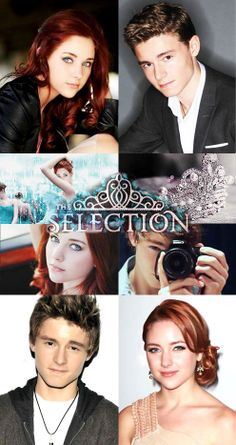 The Selection - America Singer and Prince Maxon Schreave - Haley Ramm and Callan McAuliffe <----- I approve