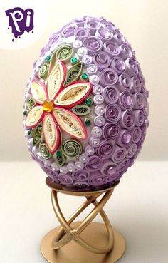 Quilling Videos, Paper Quilling Designs, Quilling Paper Craft, Quilling Techniques, Quilling Patterns, Easter Projects, Easter Crafts, Diy Crafts Hacks, Crafts To Make