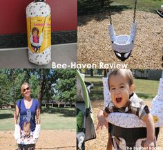 Baby Bee-Haven Swingin' Smart Swing Seat Cover Review...swing your babies giggles right out!