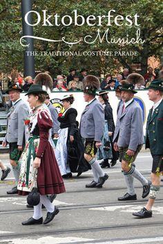 The grand traditional custom parade in Munich, called Trachten und Schützenzug.