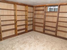 Do+It+Yourself+Wooden+Furniture+for+garage | ... Made Huge Wall Shelves Design With Wooden Material For Garage Shelves