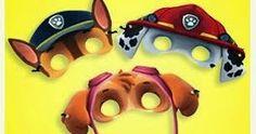 Oh My Fiesta! in english: Paw Patrol Free Printable Masks and Ears. Paw Patrol Masks, Paw Patrol Pups, Paw Patrol Party, Paw Patrol Birthday, 4th Birthday Parties, Birthday Party Decorations, Boy Birthday, Birthday Ideas, Birthday Angel