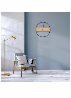 Kitchen Wall Clocks, Living Room Kitchen, Living Room Decor, Minimalist Wall Clocks, Minimalist Decor, Wall Clock Price, Wall Clock Sticker, Antique Wall Clocks, Fancy Houses