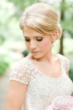 Southern bump + jeweled sleeves | The Nolans #wedding