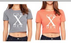 Real women hustle hard. Classic Times crop top coming soon... #con10derregime #con10der