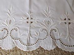 ebay (856thomasd): White-Altar-Cloth-Linen-Catholic-Church-Altar [used, $50.00]