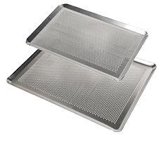 Plaques aluminium perforées