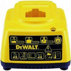 Dewalt 7220001 Cargador Bateria, 20 W, 7.2 V, Amarillo: Amazon.es: Bricolaje y herramientas Charger, Yellow, Tools, Diy