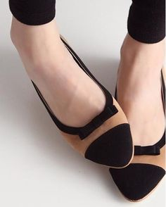 2013 the tip of the new Japan and South Korea cute bow spell color single shoes shoes flat shoes, work shoes, driving shoes-ZZKKO