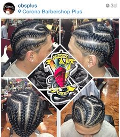 Freestyle braids