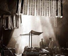 A Chinese Street, 1960s, Ho Fan