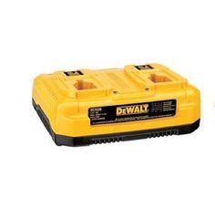 DeWalt Dual Port 1 Hr Battery Charger Combo Pak W Hgh Capacity XRP 18 V Battery #DeWalt