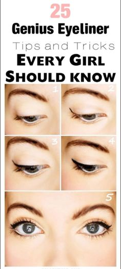 25 Genius Eyeliner Tips and Tricks for Beginners! – C/R