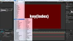Quick Tip: key(index) after effects expression