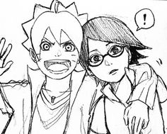 Boruto and Sarada || Boruto: Naruto Next Generations