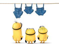 ♡♡♡ minion laundry day