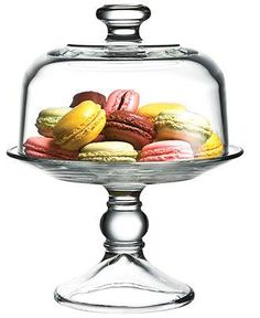 Display your delish Spring treats on a domed cake stand from the Cellar