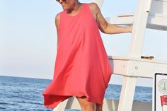 Looking for the perfect casual Summer dress pattern? Look no further. The Trapeze Tank Dress is fabulous for throwing on all Summer long, while staying cool in the hot temperatures. Great for every day wear, the trapeze tank dress can also be used as a beach cover up for more conservative dressers. Using soft knit fabric, this dress has a fun swing dress feel – with loads of flow and movement. Download the free …