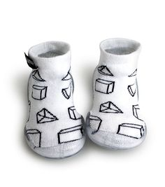 collégien nununu geometric slippers - NUNUNU WORLD