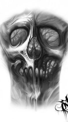 Skull Tattoo Design, Skull Design, Skull Tattoos, Body Art Tattoos, Tattoo Drawings, Hand Tattoos, Sleeve Tattoos, Cool Tattoos, Tattoo Designs
