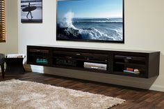 Wall Mounted Media Stand ECO GEO Entertainment Center Espresso | Flickr - Photo Sharing!