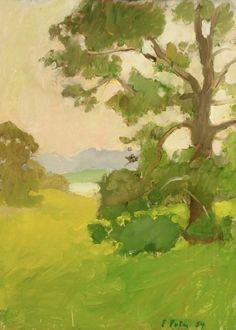 urgetocreate:  Fairfield Porter (1907–1975), Tree, 1954,  Oil on canvas