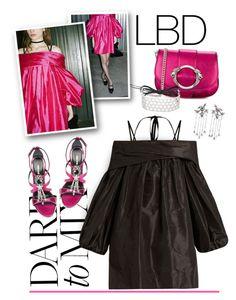 """Little Black Dress"" by emavera ❤ liked on Polyvore featuring Roberto Cavalli, Valentino, Fallon, Isa Arfen, LBD, valentino, robertocavalli, fallonmonarch and isa_arfen"