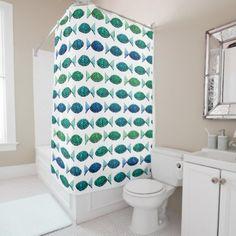 #fishing - #Fishy pattern shower curtain
